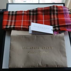 Burberry scarves for kids.